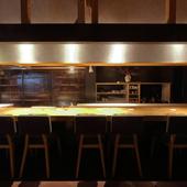 料理屋としてのみならず、日本酒を嗜む場としての一役も担う
