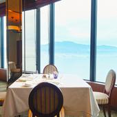 洗練された雰囲気で、特別な時に使いたいホテルレストラン