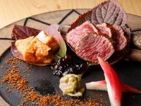 肉本来の旨みを最大限に引き出した『豊橋産段戸牛ステーキ』