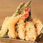 気軽で本格的な『天ぷら』のバリエーション