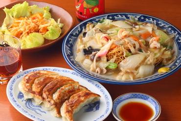 創業当時からの味を受け継ぐ自慢の『中華料理』