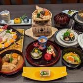 四季折々、旬の食材を味わえる『季節会席』
