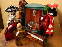 メキシコと言えばテキーラ! 個性的なボトルも魅力の一つ
