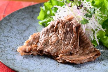 上品で繊細な味わい『牛肉の昆布醤油焼き』