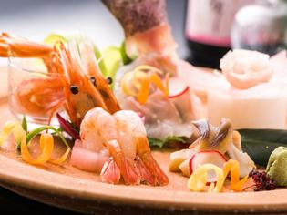 北の大地の恵みを味わえる。北海道ならでは新鮮魚介のお造り
