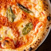 イタリア産のトマトソースとチーズが味の決め手『マルゲリータ』