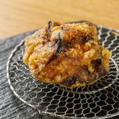 じっくりと揚げられた甘みの強い『南瓜の天ぷら』