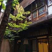 古きよき日本家屋の空間が安らぎを与えてくれる