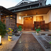 京都西山、自然豊かな大原野の住宅街にあるレストラン