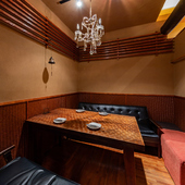 プライベート感満載のソファー席付き個室!