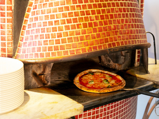 風味豊かなオリジナルブレンドのピッツァ生地