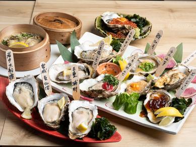 鮮度抜群の素材を毎日仕入れ。多彩な逸品に仕立て、ゲストに届ける『生牡蠣料理』
