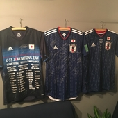 サッカー日本代表サイン入りユニフォーム!