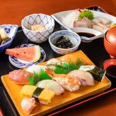自分へのご褒美やランチ会など、ちょっと贅沢したい日に最適な『寿司定食』