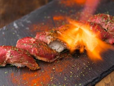 炙り肉寿司6貫 数量限定