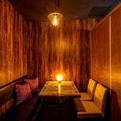 全席個室のデザイナーズ空間