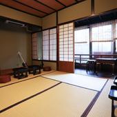 金沢芸妓がいたお茶屋の建物をそのまま利用