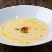 「ホッ」とさせてくれる濃厚な味わい『安納芋のポタージュ』