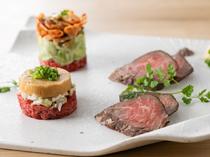確かな目利きで北海道から仕入れる、厳選食材を活かした料理