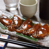 日本酒と一緒にどうぞ 食べやすくてお酒も進む『ホタルイカの昆布〆』