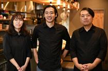 日本酒ならお任せあれ。知識が豊富なスタッフが数名在籍