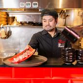 素材選びに一切妥協なし。本当においしい肉だけを厳選
