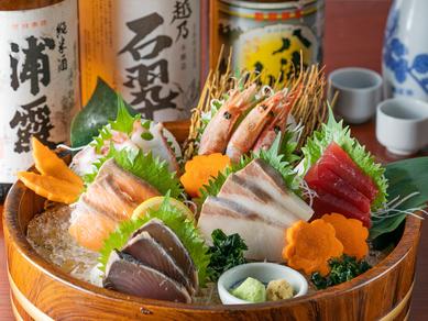 四季折々で変わる魚のおいしさと新鮮さを味わう『刺身5点盛り』