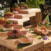 甘くてとろける味わいに悶絶する『肉寿司』