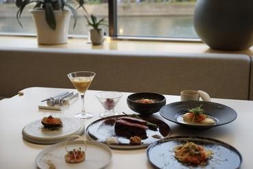 薪焼きディナーコース(赤身肉)