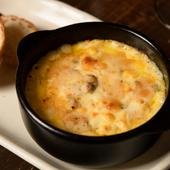 チーズと野菜を、熱々グラタンで。  『ゴルゴンゾーラのグラタン』