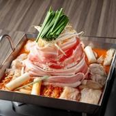 熊野牛ほるもん入り! 3種の味を楽しめる『てっちゃんの鍋』