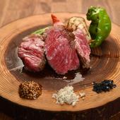沖縄産もとぶ牛のステーキフリット