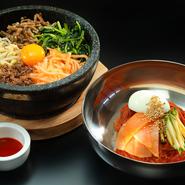 本場韓国のオモニ直伝のレシピでつくられた、本格派メニューです。
