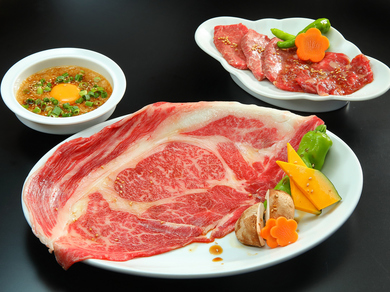 A4~A5等級黒毛和牛をはじめ、上質な素材での『焼肉』