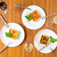 「福屋 八丁堀本店」9階。素材と正面から向き合ったフランス料理を発信し続ける【シマラボ】が提案するビストロ。繊細な料理をより身近に。日常に彩りを与えてくれる一軒です。