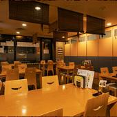 各種宴会、飲み会に飲み放題コースもございます。