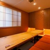 2階 掘りごたつ完全個室(禁煙) 接待会食・ご家族にぴったり