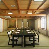 それぞれに雰囲気違う個室はゲストのおもてなしに最適