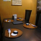 テーブル個室・お座敷個室