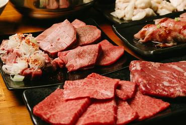 分厚くて歯ごたえもあり、柔らかな食感も楽しめる『厚切り牛タン』