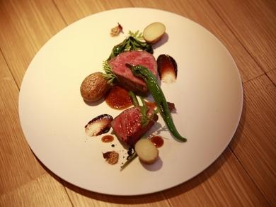 『岡山県備前黒牛のステーキ』