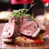 多彩な料理でいただける、プロが選んだ自慢の「お肉」