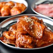「焼肉ぽんが」と同じキムチ&ナムルを提供