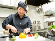 和食やイタリアンを主軸に、柔軟な発想を取り入れた料理づくり