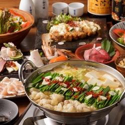 飲み放題もたっぷりついた【日~木限定】お得な食べ放題コースです!鶏しゃぶと食べ放題をご堪能ください。