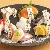 その時々の旬のものをいただける『究極の鮮魚:7種盛』