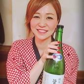 若女将厳選の日本酒が呑めます。