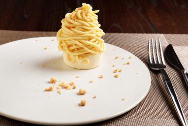 安納芋のモンブラン仕立て