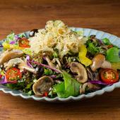 ドイツ風きのこサラダ German Style Salad with Mushrooms