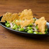 ガーリックチーズ枝豆 Garlic Cheese Edamame